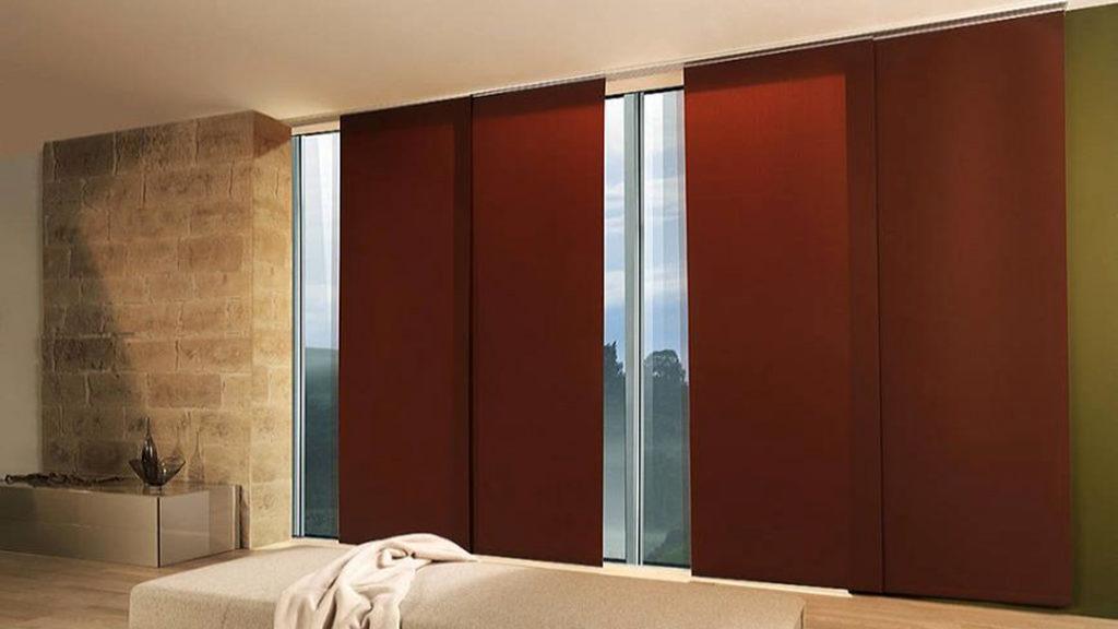 Panelo - panouri glisante din tesaturi fine pentru ferestre mari