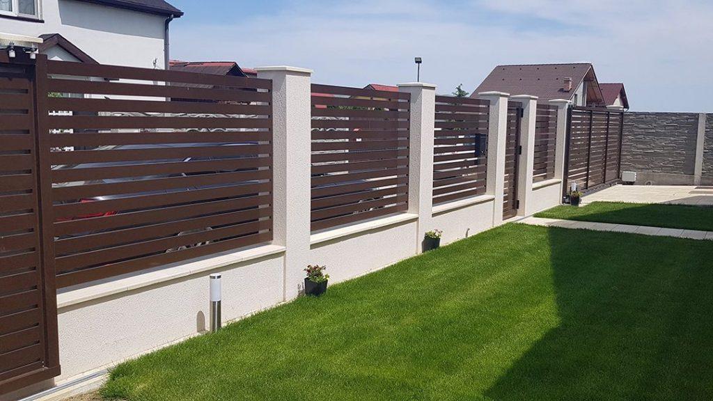 Gard si Porti de aluminiu